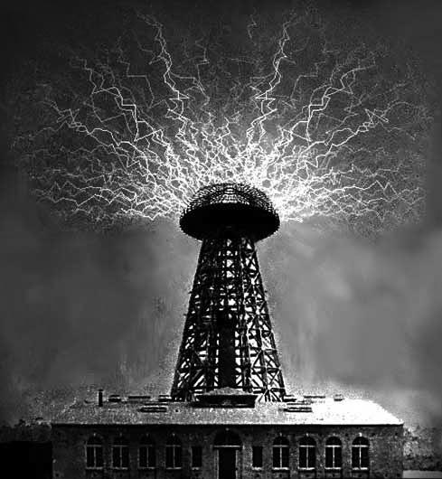 Wardenclyffe tower of Nikola Tesla