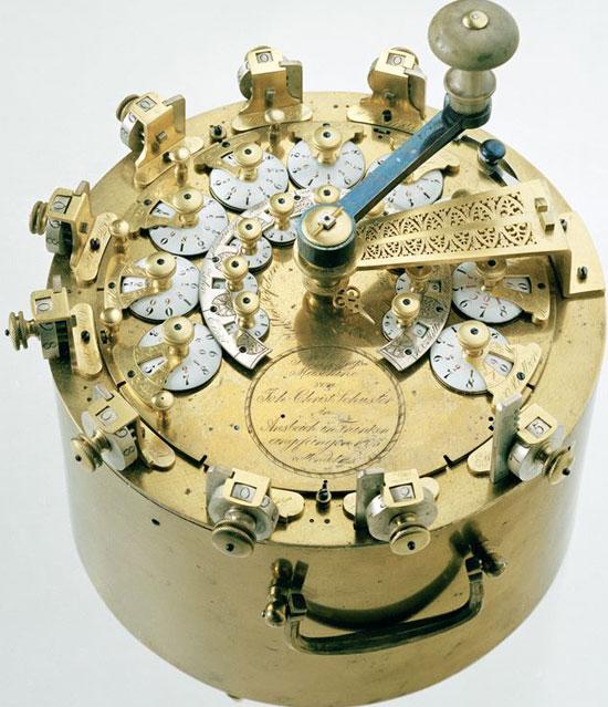 The calculating machine of Hahn