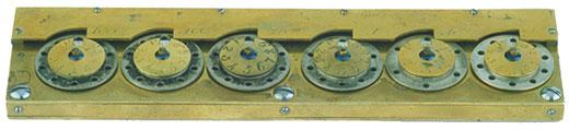 The adding machine of Hahn