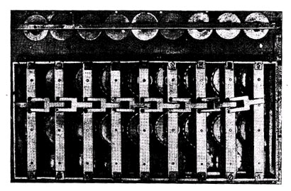 The calculating machine of Jewna Jacobson-back view