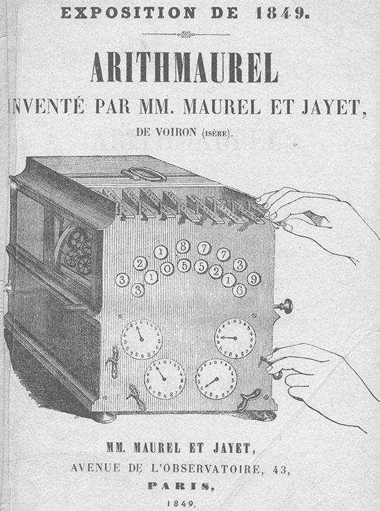 The arithmaurel of Maurel and Jayet, a sketch