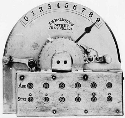 The Arithmometer of Frank Baldwin-photo
