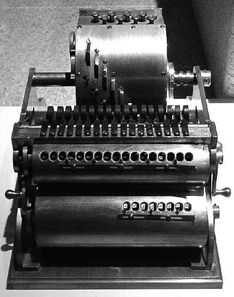 The machine of Frank Baldwin from 1905