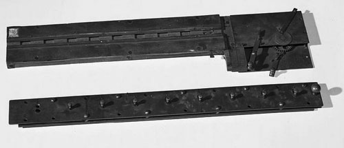 A part of the patent model of the second machine of Barbour