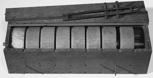 The second calculating machine of Edmund D. Barbour