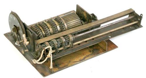The third calculating machine of Edmund D. Barbour