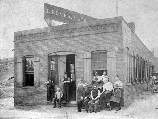 Joseph Boyer machine shop, St. Louis