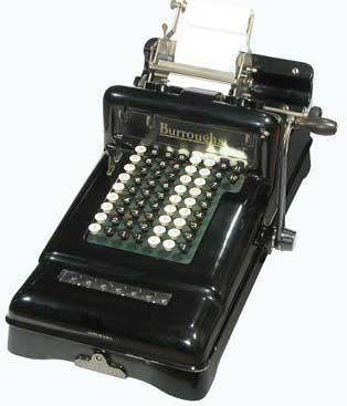 Adding Machine, Class 3