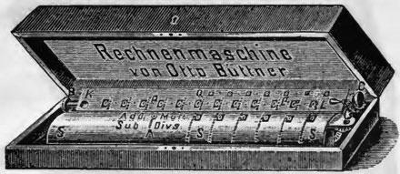 A calculating machine of Büttner