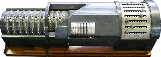 The arithmometer of Chebyshev