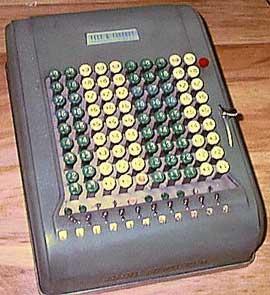 Comptometer Model M
