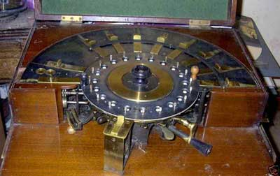 The circular calculating machine of Edmondson
