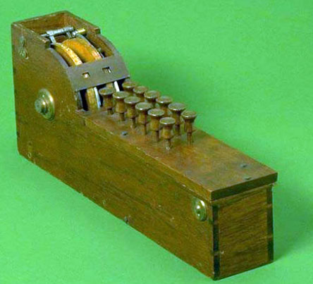 The calculating machine of Thomas Hill