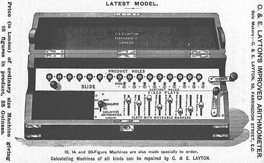 Layton-Tate machine from 1911