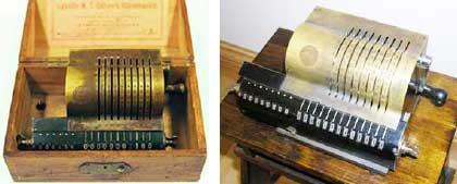 Oldest survived arithmometer of Odhner