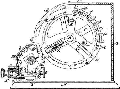 Pin-wheel of Odhner