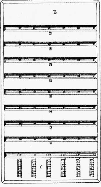 The patent drawing of Multiplicateur