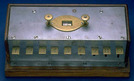 The calculating machine of Victor Schilt