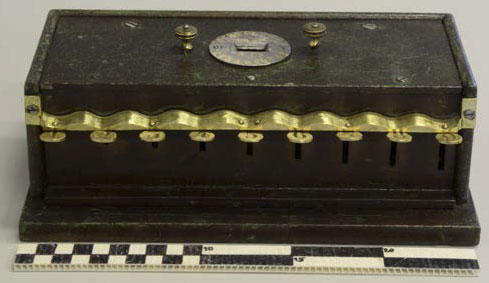 The calculating machine of Schwilgué from 1846