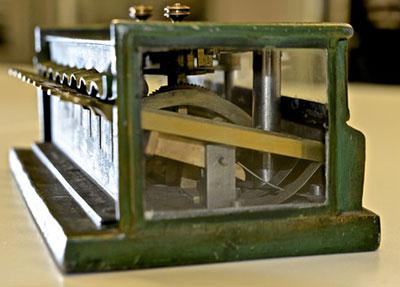 The calculating machine of Schwilgué in Zurich