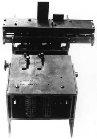 The prototype of the Verea