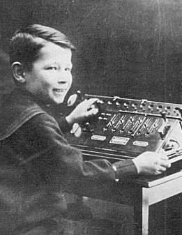 Curt Herzstark - 8 years old