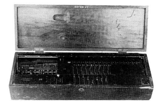 Rechnitzer's Autarith machine