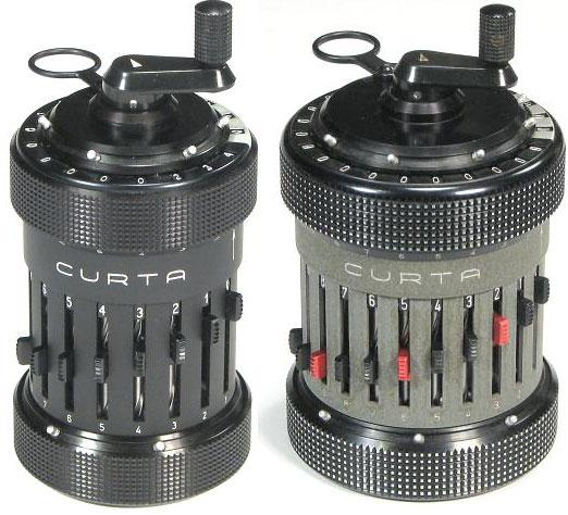 Curta Model I and Type II