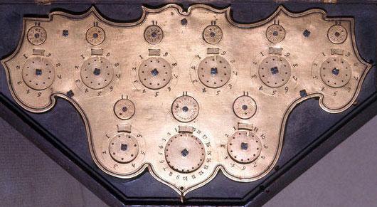 calculating machine of Tito Livio Burratini