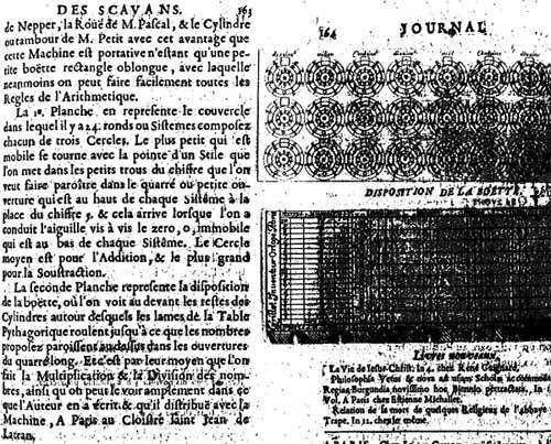 Description of the calculating machine of René Grillet de Roven, page 2