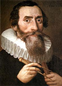 Kepler in 1610