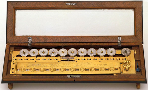 The multiplication machine of Morland