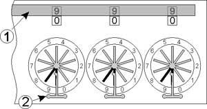 Zeroing of the mechanism