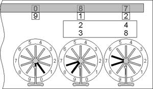 Subtraction with the Pascaline