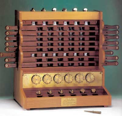 The replica of the Calculating Machine of Schickard