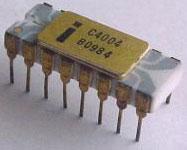 4004 microprocessor