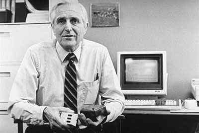 Engelbart showing two mice