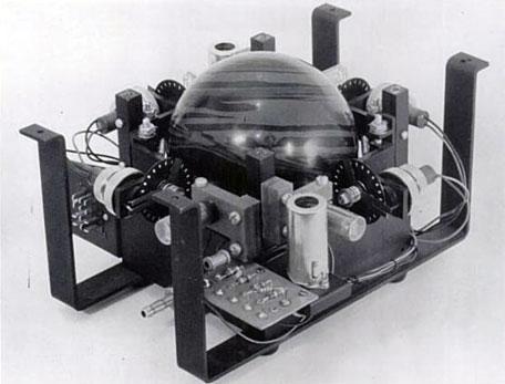 The trackball of DATAR