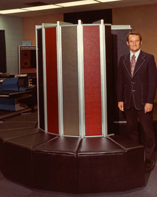 Seymour Roger Cray and Cray-1