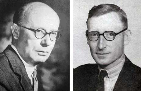 Maxwell Newman and Thomas Flowers