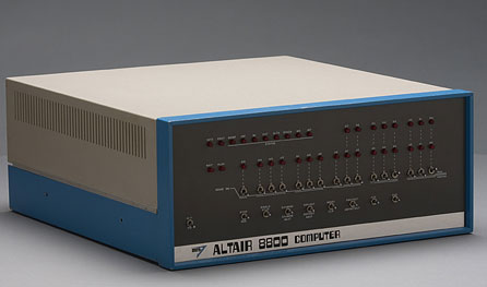 Altair 8800 side view