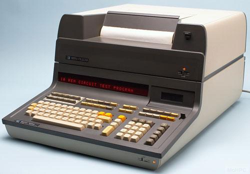 Hewlett-Packard 9830A with printer