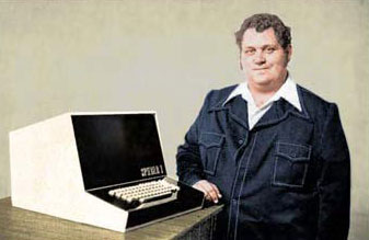Mike Wise and Sphere 1 computer