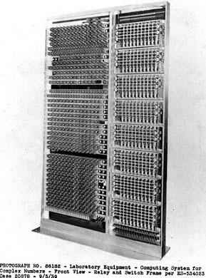 CNC computer of Stibitz, copyright Lucent Technologies