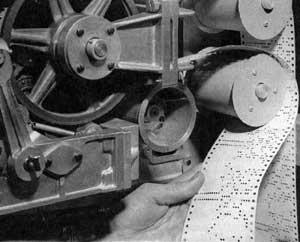 Mark I tape reader