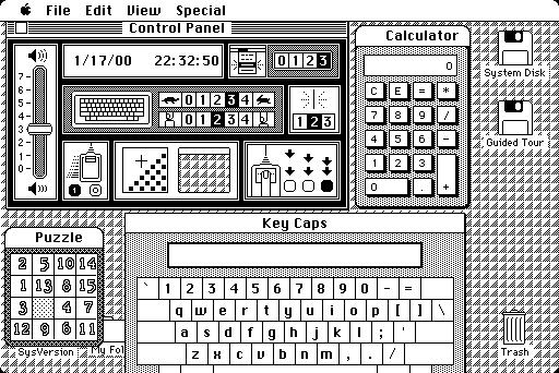 Apple Macintosh GUI