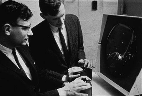 Playing Spacewar in 1962
