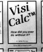 VisiCalc first add