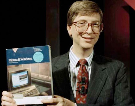 Bill Gates in 1990