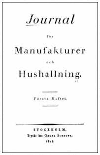 Journal för Manufakturer och Hushållning